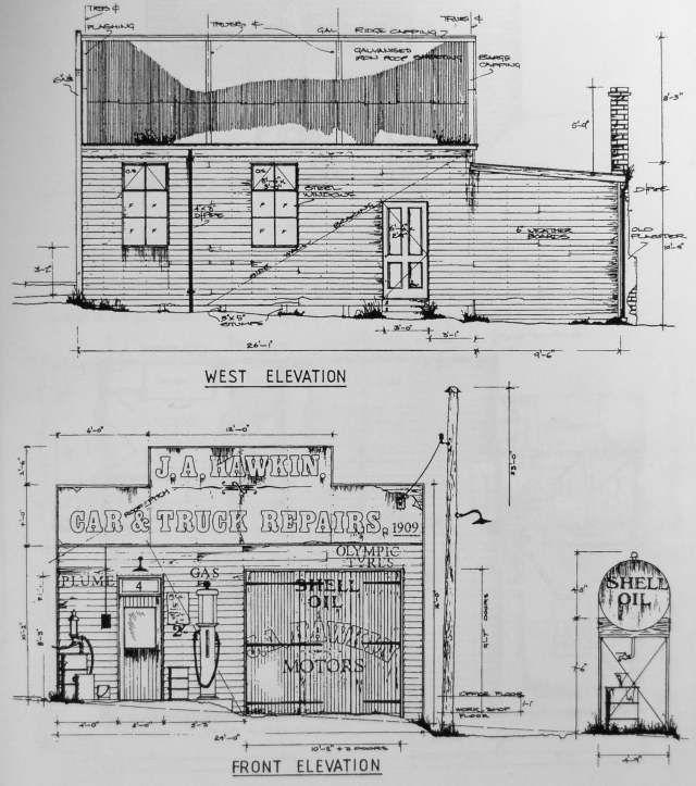 Railroad line forums gas station challenge structures for Model building plans