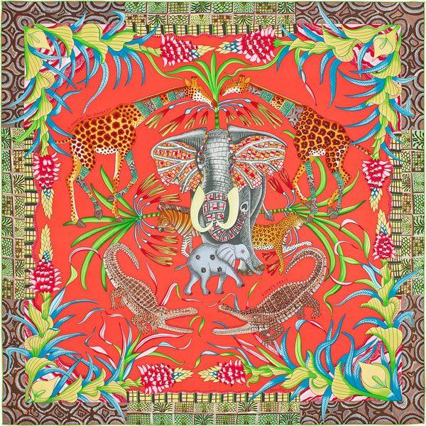 Ardmore Ceramics, el colectivo de artistas africanos, es el nuevo invitado por la casa Hermès para llenar sus pañuelos de figuras y colores.   No podría haber mejor lienzo que los pañuelos de seda de Hermès para queArdmore Ceramics estampe en ellos su flora y fauna colorida. El estudio sudafricano, creado a mediados de …