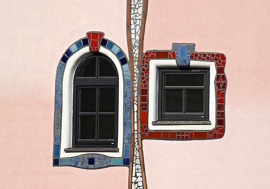 Hundertwasser windows | Windows and Doors | Pinterest ...