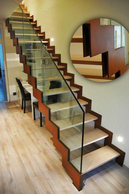 17 mejores ideas sobre tipos de escaleras en pinterest - Modelos de escaleras de casas ...