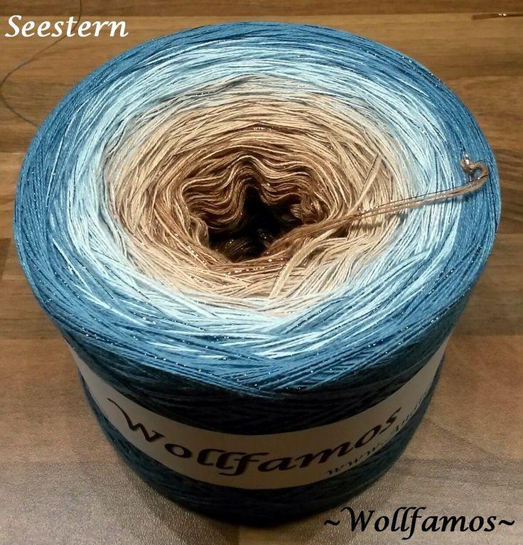 Wollfamos - Wollfamos ~ Handgewickeltes Farbverlaufsgarn