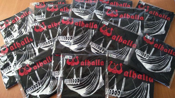 Camisetas de Walhalla Consíguelas en http://karmaleoncamisetas.com/