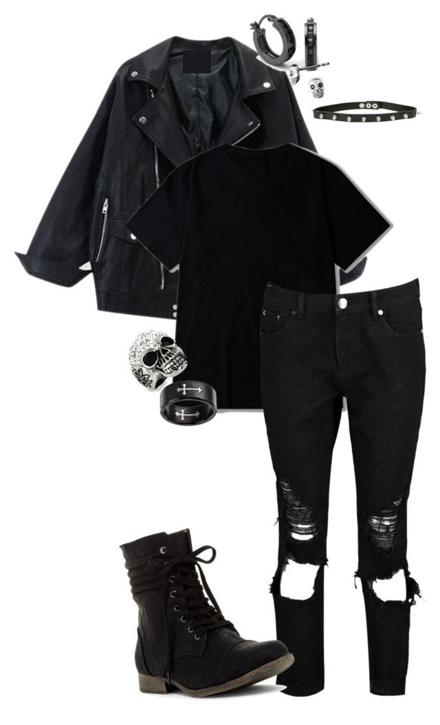 """""""Skydive"""" by ffsbecanon on Polyvore featuring Boohoo, West Coast Jewelry, BillyTheTree and Links of London"""