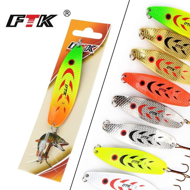 5x Deep Sea Jigs Saltwater Fishing Lures 13.6g Metal Hard Baits for Casting