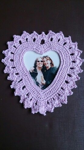 Heart frames available from Crotchety Things on Facebook