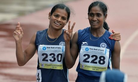 Gender binaries are not 'natural' but enforced - India's Dutee Chand was forced to miss the Commonwealth Games due to a controversial testosterone test - too high testosterone levels.