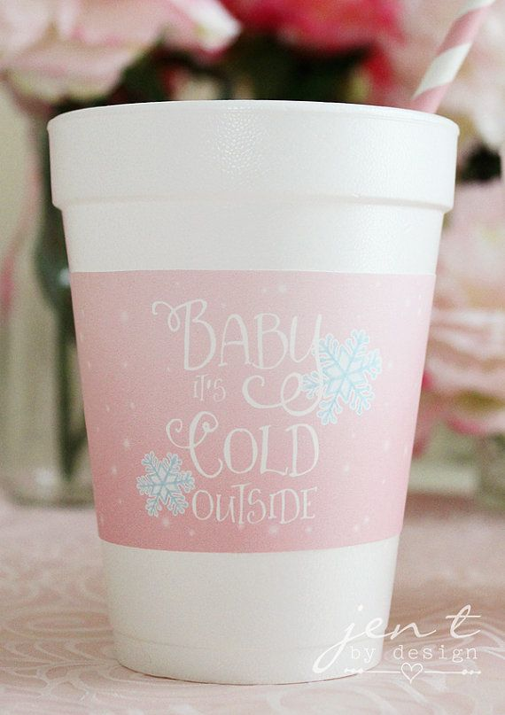 Baby It's Cold Outside Baby Shower Personalized by JenTbyDesign