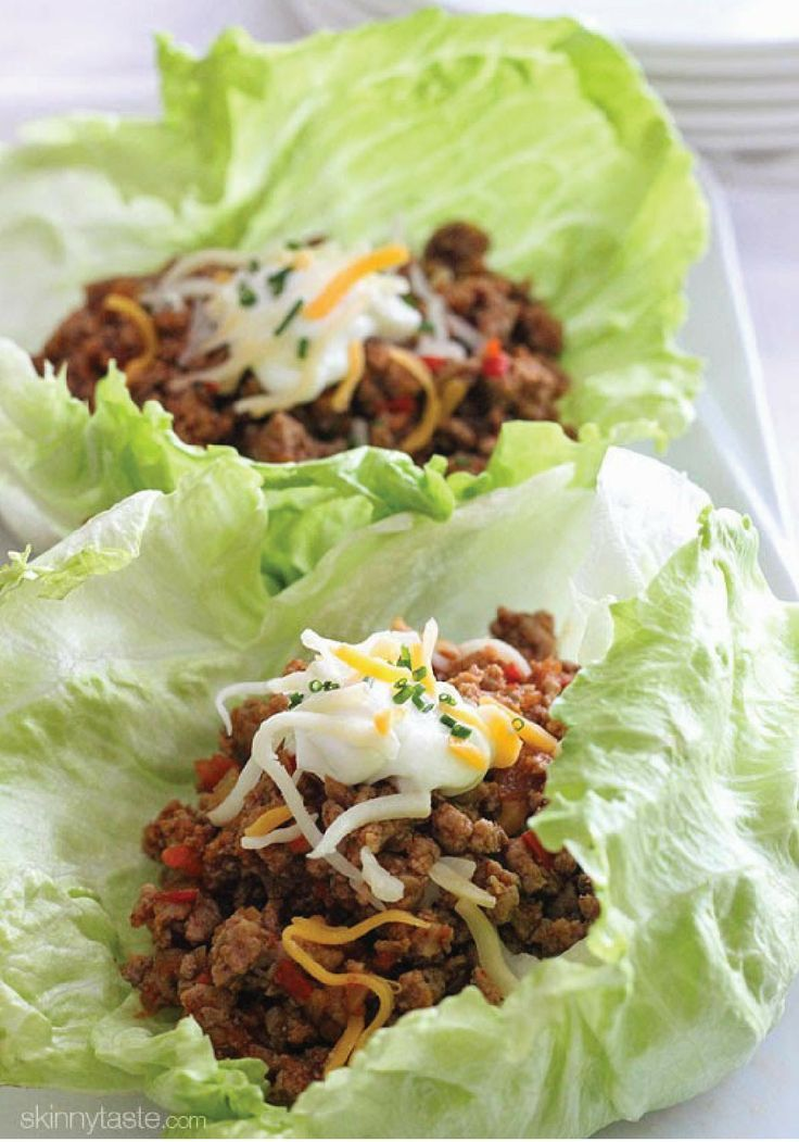 Turkey Taco Lettuce Wraps – Switch up your Mexican dinner night routine with this delicious recipe!
