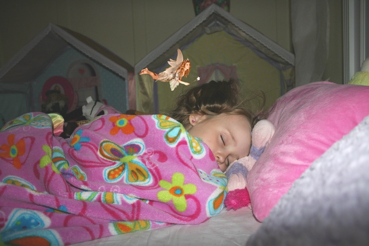 Get a picture of your child sleeping and the Tooth Fairy! My daughter was so excited about it this morning!!