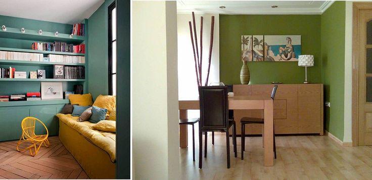 Lo que los colores dicen de tus espacios. Color verde. Significado. Decoración.