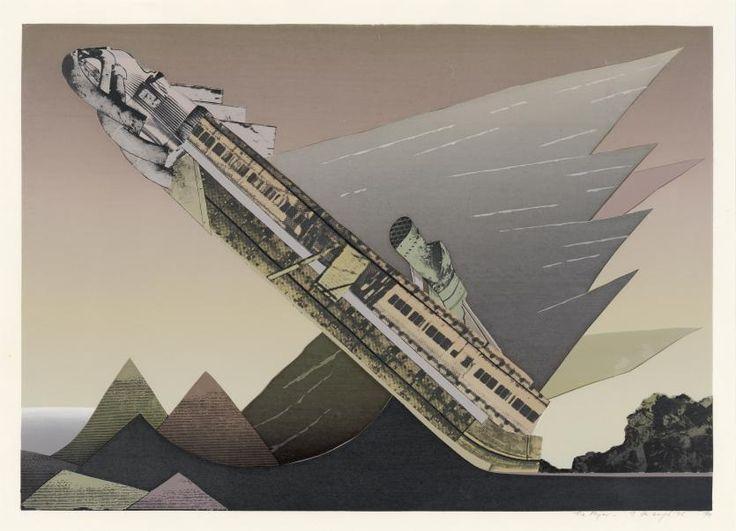 The flyer.1975.  Jan SENBERGS .NGV