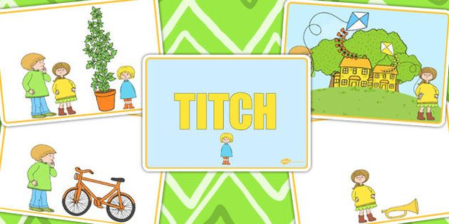 Titch Story Sequencing Cards - stories, sequence, books, reading