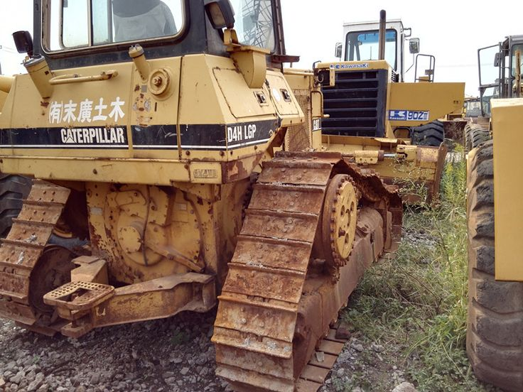 Used CAT D4H Small Bulldozer For Sale