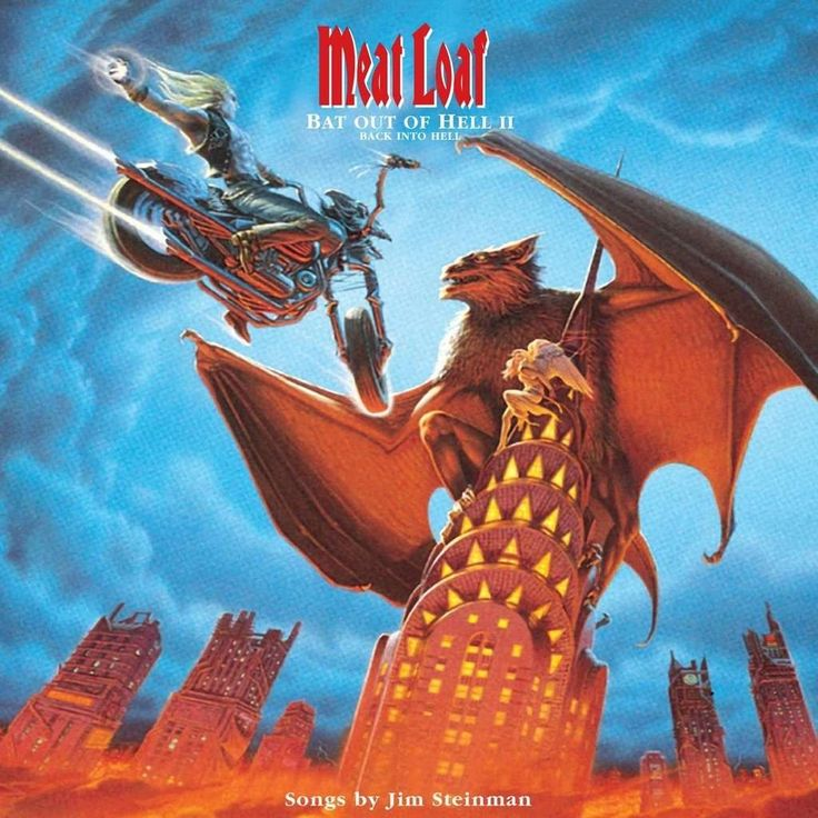 #BatOutofHell II: #BackintoHell is the #sixth #studio #album by #MeatLoaf and was #written and #produced by #JimSteinman. Just like the #first #album of the #trilogy, #BatOutofHell II was a #huge #commercial #success and #soldover 14 million #copies #worldwide.