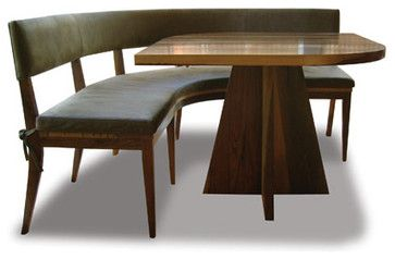 Neto Booth - eclectic - dining chairs and benches - costantinidesign.com