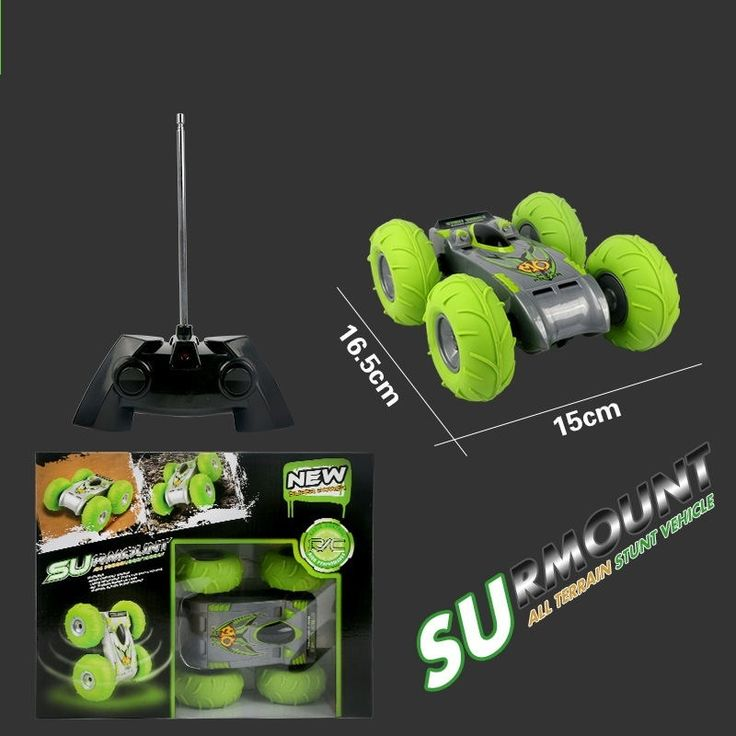 36.54$  Buy here - http://aliwvx.shopchina.info/go.php?t=32610751690 - Free Shipping Rc All Terrain Stunt Racing Car 2.4GHz RC Cars Bouncing Flexible Wheels Remote Control SUV Car Inflatable tyres  #buyininternet