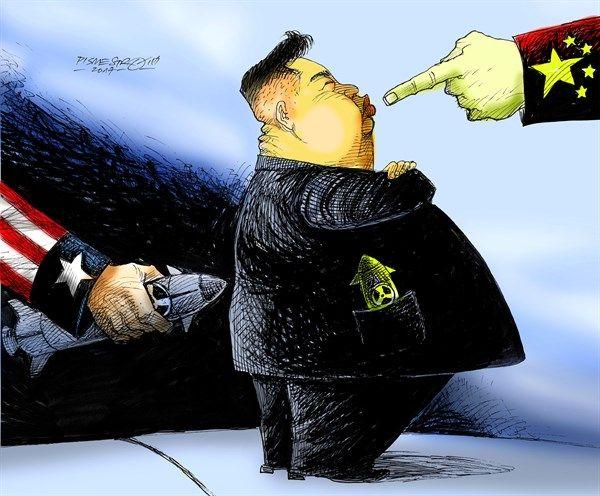 Petar Pismestrovic - Kleine Zeitung, Austria - troublemaker - English - Kim Jong Un, North Korea, USA, Donald Trump, China, Nuclear weapon