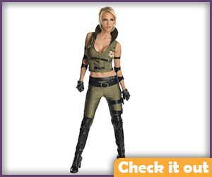 Sonya Blade Costume Set.
