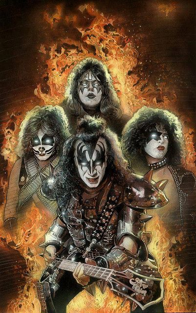 Kiss  was an acquired taste for me. Hubby always liked them & I eventually appreciated them.