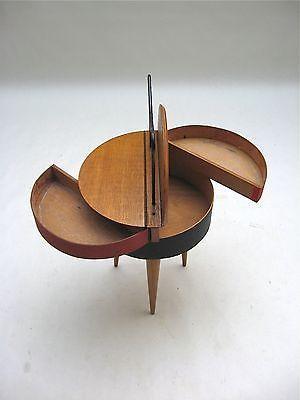 Rare Tripod Storage Cabinet 50,s le corbusier perriand royere guariche eames era