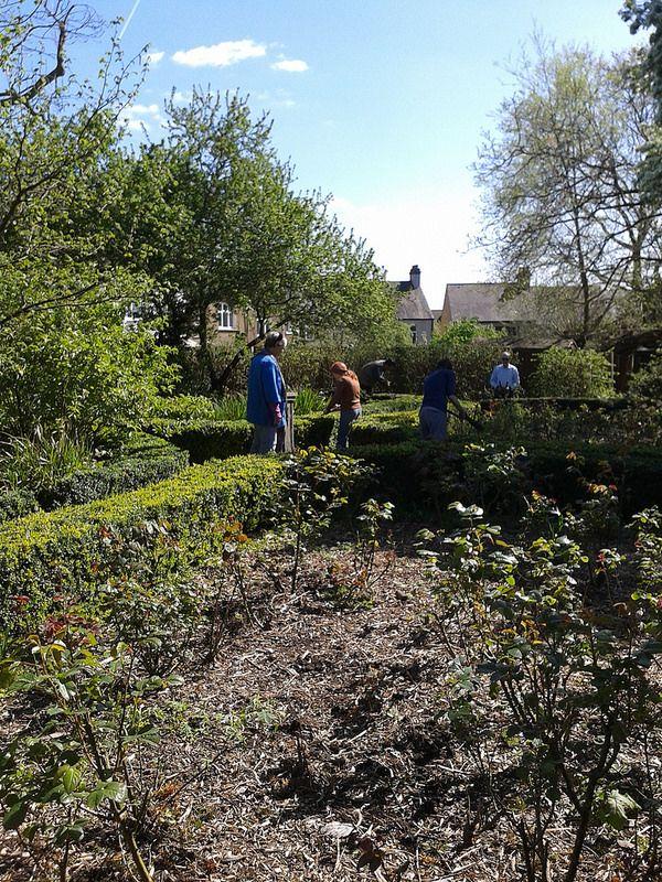 Winsford Gardens Rose Garden
