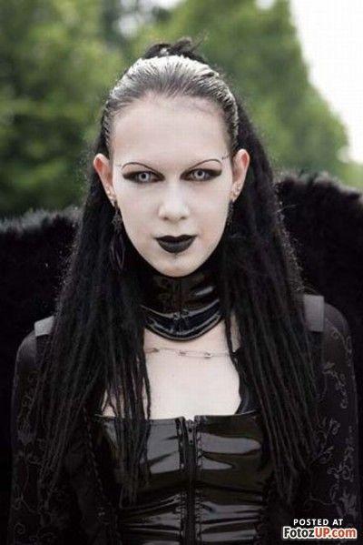 Dark Goth Girl At WGT