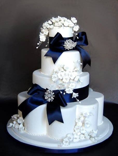 .Black and White Cake