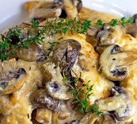 Mushroom Asiago Chicken/Ninja Cooking System recipe