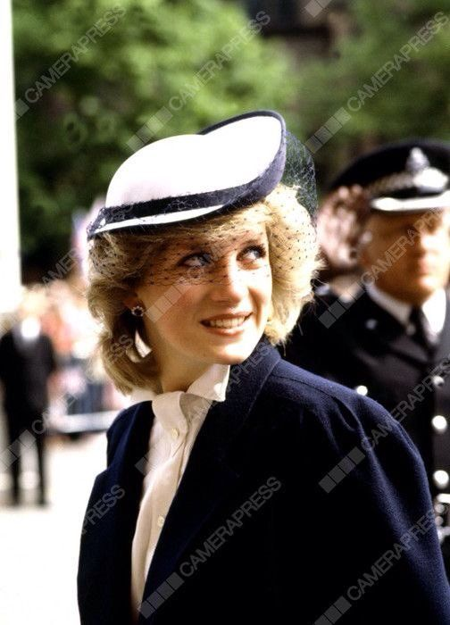 """""""May 30, 1984: Princess Diana & Prince Charles rename Cheshire Hospital to Countess of Chester Hospital in Warrington"""""""