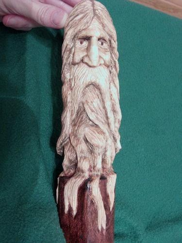Wizard, wood spirit, ooak