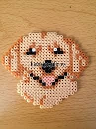 Image result for realistic perler bead dog