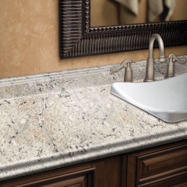 Ouro Romano With Etchings Straight Laminate Kitchen Countertop