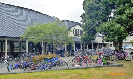 Cycle to the Cinema – Sunday February 19, 2012, Focal Point Cinema, Levin