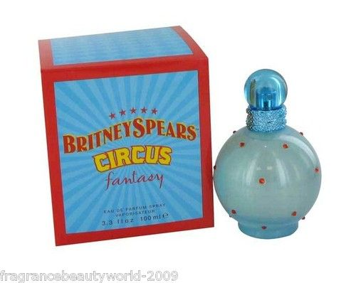 Fantasy Circus Britney Spears Perfume.. very old time perfume, recommended more for young aged girls