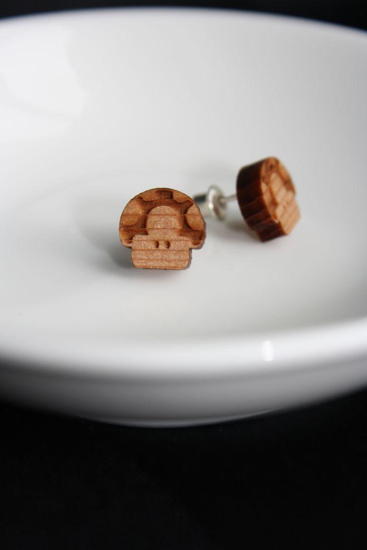 1-up mushroom studs - $15