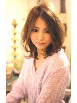 30代に似合うミディアムヘアカタログ♡-5歳に見える髪型まとめ (2ページ目) MERY [メリー]