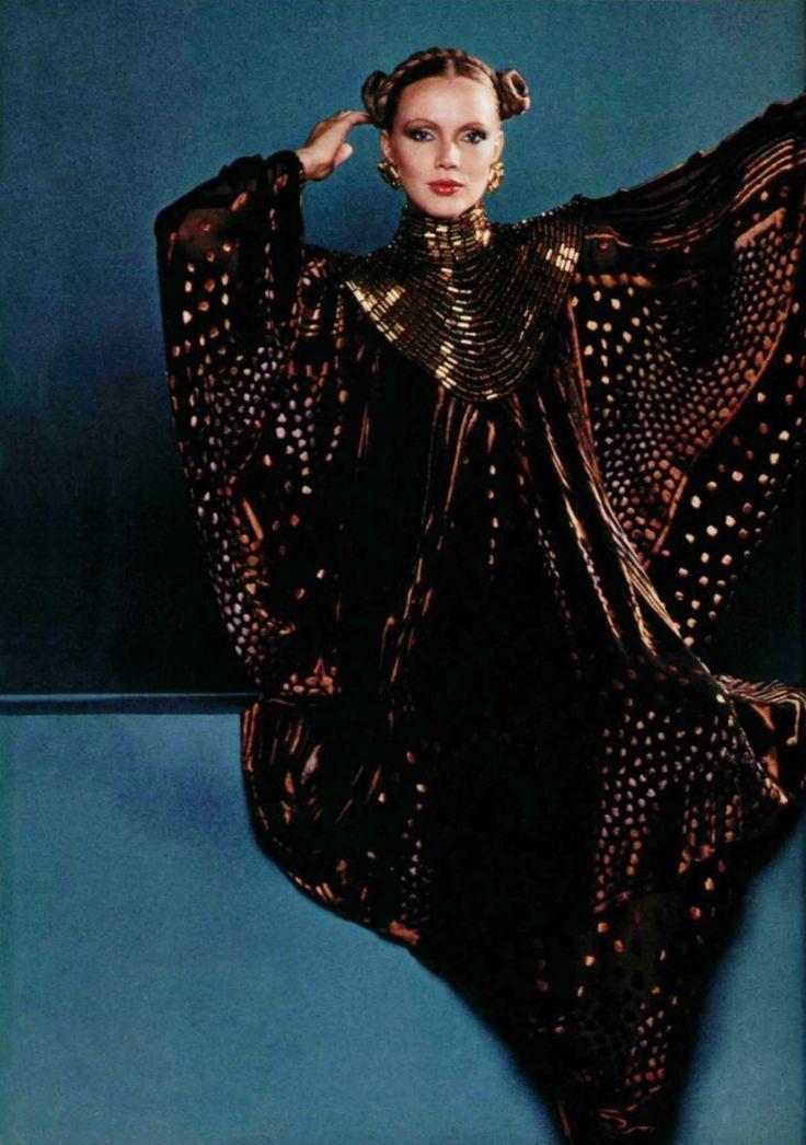 Paco Rabanne, Dress, in L'Officiel, 1978