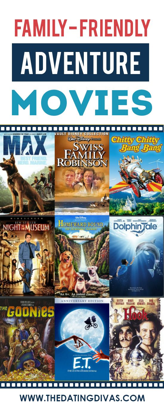 101 Family Friendly Movies - From  Adventure movies, Best kid movies, Family movies