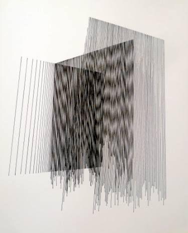 "Saatchi Art Artist Gyula Sági; Drawing, ""Op. 180. interferences serial"" #art"