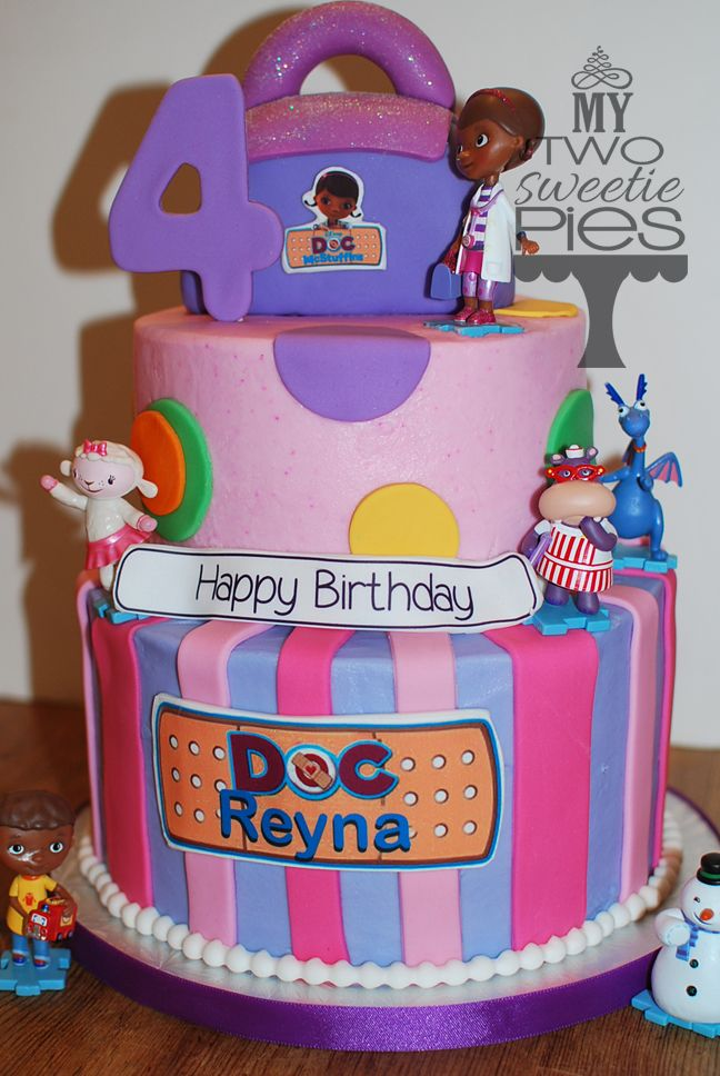 120 best Doc McStuffins Cakes images on Pinterest Anniversary