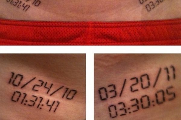 41 Awesome Running-Inspired Tattoos | Runner's World.  I'm not a runner, but some of these were great.