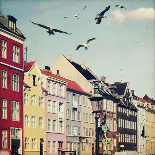 classic european street