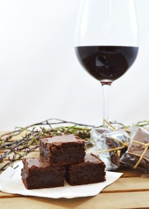 Brownie de Vinho do Porto                                                                                                                                                                                 Mais