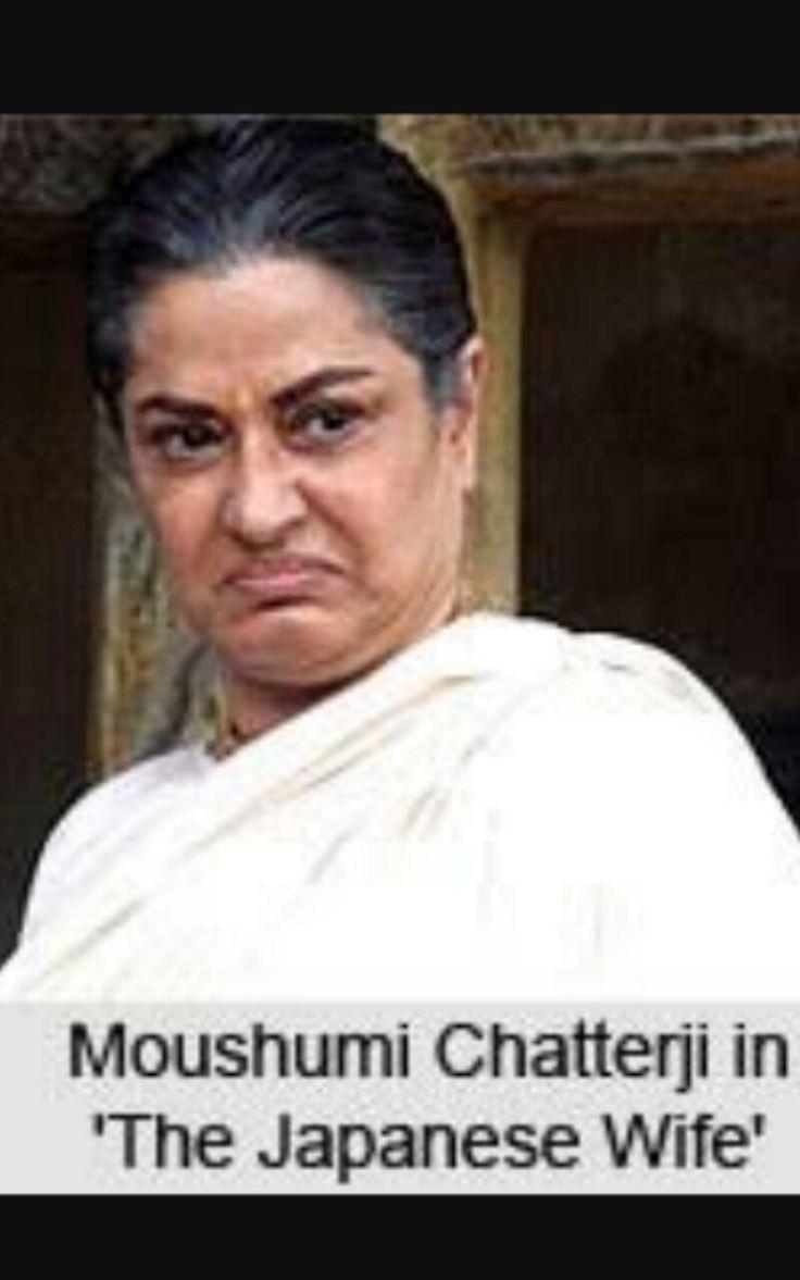 Moushumi chatterjee in the Japanese wife  Dir Aparna sen