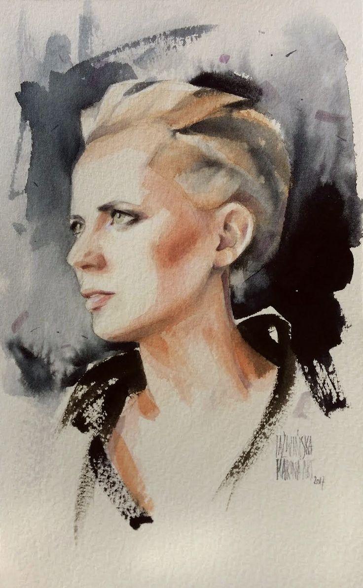 Karina Jaźwińska/ Watercolor/ Agnis/ Size: 13x23 cm