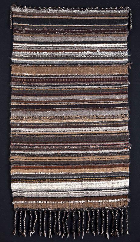 Handwoven rug by Cheryl Demas