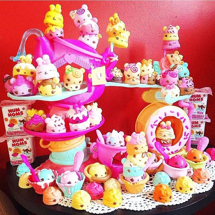 at this amazing #NumNoms Series 1 collection by @kawaiiprincess93!  Who's excited to start their Series 2 #collection? #kawaiitoys #kawaii #toys #toy #collectibles