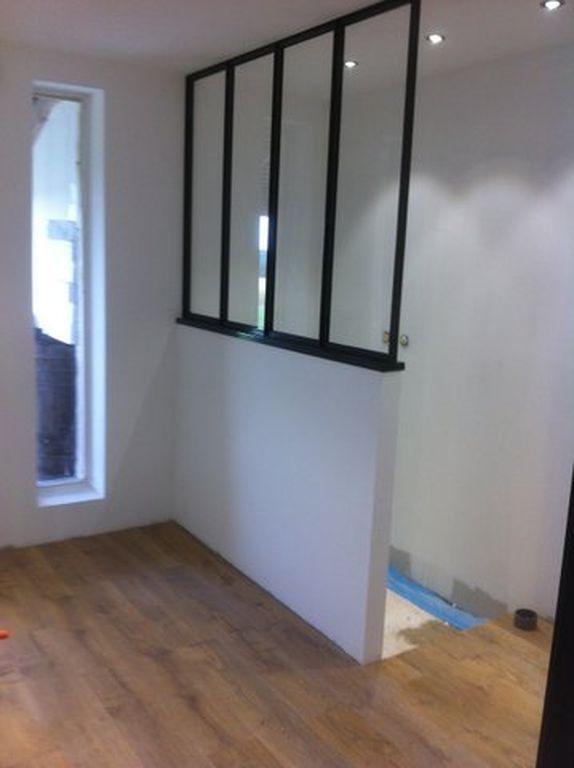 S paration verri re style atelier d 39 artiste en acier for Separation en verre style atelier