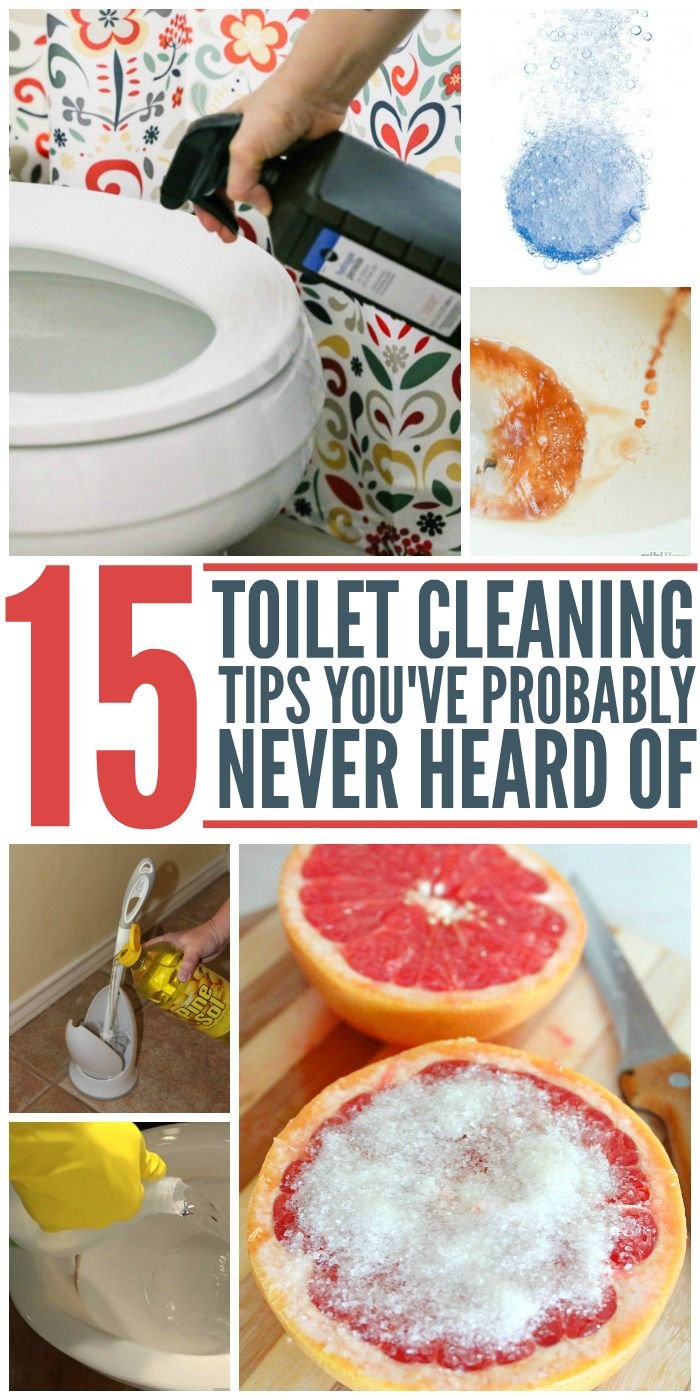 15 Toilet Cleaning Tips You've Probably Never Heard Of - One Crazy House