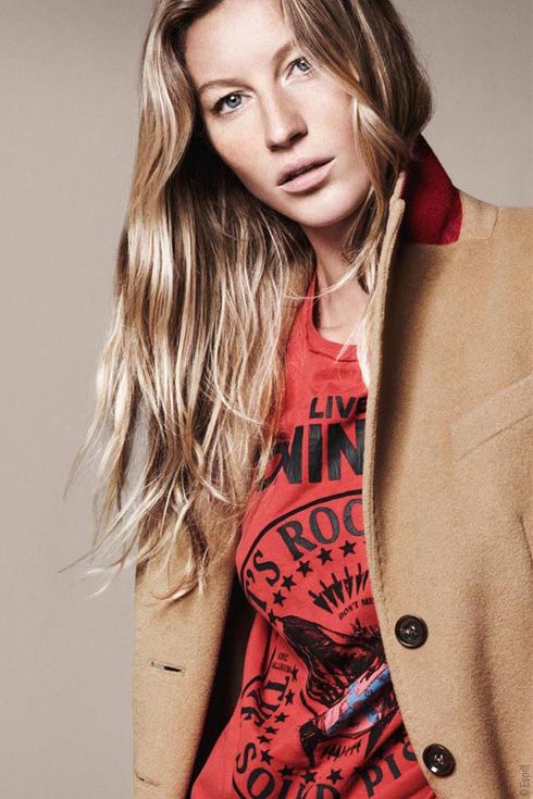 Gisele Bundchen by David Sims, Esprit FW 2011 l #fashion